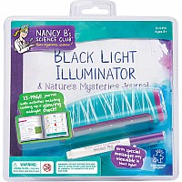 Nancy B's Science Club Black Light Illuminator & Nature's Mysteries Journal