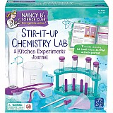 Nancy B's Science Club Stir-It-Up Chemistry Lab & Kitchen Experiments Journal