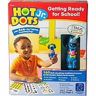 Hot Dots Jr. Getting Ready For School! Set With Ace Pen