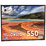 550 pc Yellowstone Frank Ruggles Collection Puzzle