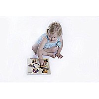 Edushape Large Knob Puzzle, Wild Animal