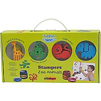 Tub Art - Stamp Set - Zoo Animals
