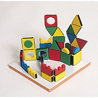 Magic Shapes - Set Of 54 with board