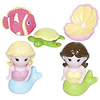Mermaid Party Bath Squirties