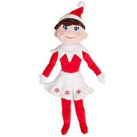 "the Elf On the Shelf: 19"" Plushee Pals Girl (lt)"