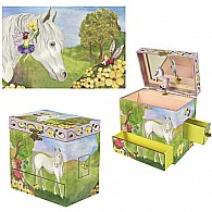 Fairy Horse Music Box