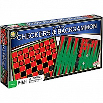 Classic Checkers and Backgammon
