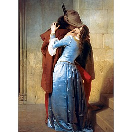Academic, Baroque & Japanese Art Puzzles - The Kiss by Francesco Hayez