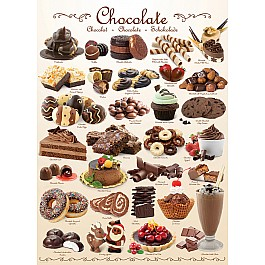 Chocolate 1000-Piece Puzzle