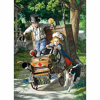 Childhood Memories Puzzles - Help on the Way by Bob Byerley