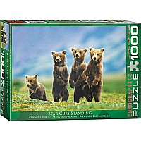 Bear Cubs Standing 1000 PC