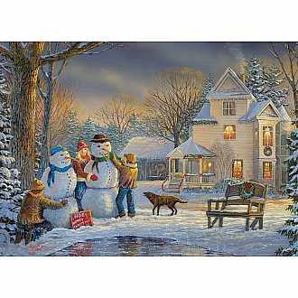Winter Wonderland Puzzles - Snow Creations by Sam Timm