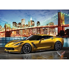 2015 Chevrolet Corvette Z06: Out for a Spin 1000-Piece Puzzle