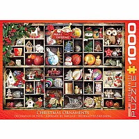 Vintage Christmas Puzzles - Christmas Ornaments