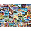 Beaches Globetrotter 1000-Piece Puzzle