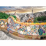 1000pc Barcelona Park Guell