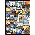 Lighthouses Vintage Ads 1000-Piece Puzzle