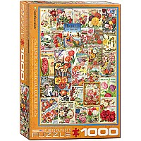 Flowers Seed Catalogue 1000-Piece Puzzle
