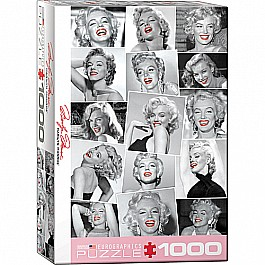Marilyn by Bernard of Hollywood 1000-Piece Puzzle