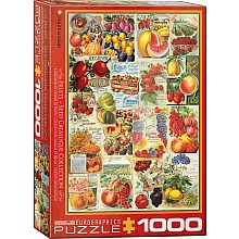 Fruits Seed Catalogue 1000-Piece Puzzle