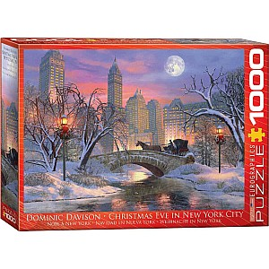 World Christmas Puzzles - Christmas Eve in New York City by Dominic Davison