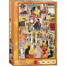 Opera & Theater Vintage Collage 1000-Piece Puzzle