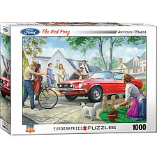 American Classics Puzzles - The Red Pony by Nestor Taylor