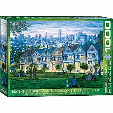 Seven Sisters, San Francisco 1000pc