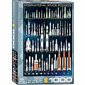 International Space Rockets 1000-Piece Puzzle