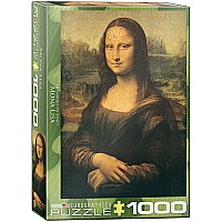 Academic, Baroque & Japanese Art Puzzles - Mona Lisa by Leonardo Da Vinci