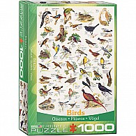 Birds Fields and Gardens 1000-Piece Puzzle