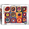 Color Study of Squares and Circles, 1913 by Kandinsky 1000-Piece Puzzle