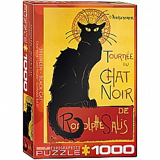 Variety Vintage Art Puzzles - Tournee du Chat Noir by Theophile Alexandre Steinlen
