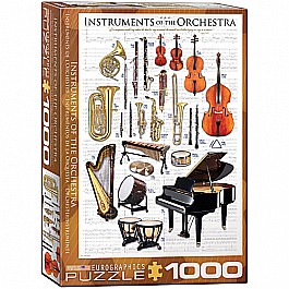 Instruments of Orchestra Puzzle 1000 pcs