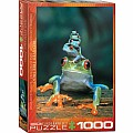 Animal Life Photography Puzzles - Red-Eyed Tree Frog
