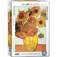 Post-Impressionism Puzzles - Twelve Sunflowers by Vincent Van Gogh