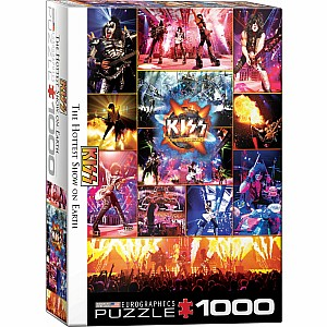 KISS The Hottest Show on Earth 1000pc