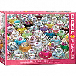 1000 Piece Tea Cup Collection Puzzle