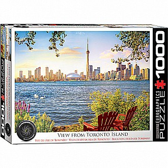 HDR Photography Puzzles - View from Toronto Island