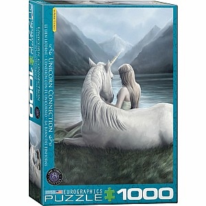 Fantasy Art Puzzles - Unicorn Connection by Anne Stokes