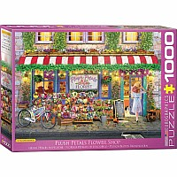 Favorite Shops & Pastimes Puzzles - Plush Petals Florist by Paul Normand