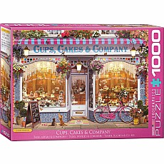 Favorite Shops & Pastimes Puzzles - Cups, Cakes & Company by Garry Walton
