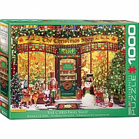 Favorite Shops & Pastimes Puzzles - The Christmas Shop by Garry Walton