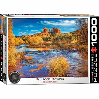 HDR Photography Puzzles - Red Rock Crossing, AZ