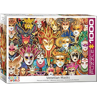 Colors of the World Puzzles - Venetian Mask