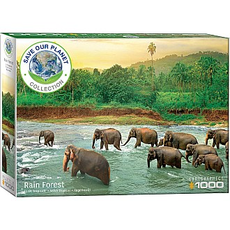SAVE OUR PLANET 1000 pc COLLECTION - Rainforest