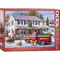 Christmas Puzzles - Christmas Antique Store by Greg Giordano
