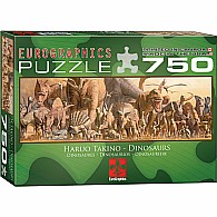Dinosaurs Jigsaw Puzzle 750-Piece Puzzle