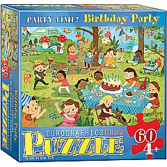 Birthday Party Party Time! 60-Piece Puzzle