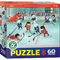 Junior League Sports 60pc Puzzle - Hockey - Junior League